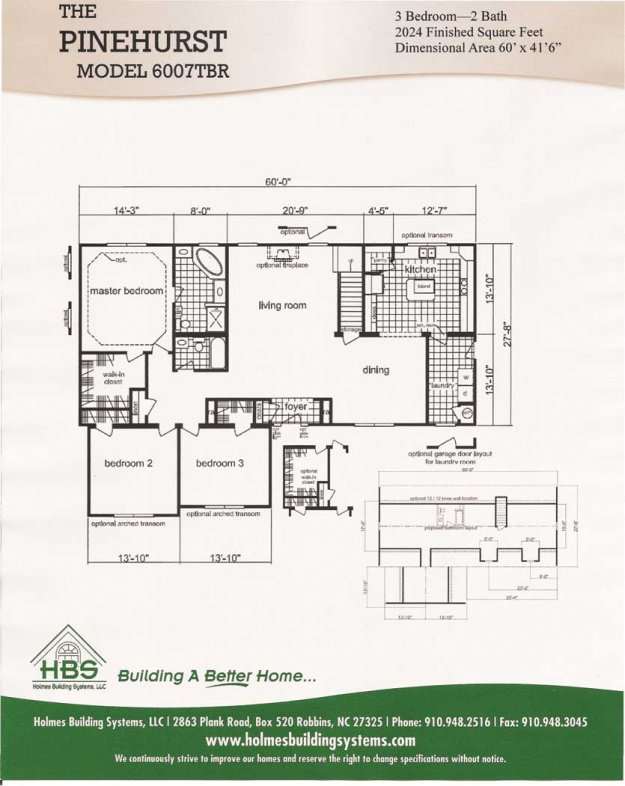 Mobile home floor plans south carolina for House plans sc